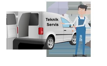 servis aracı teknik servis